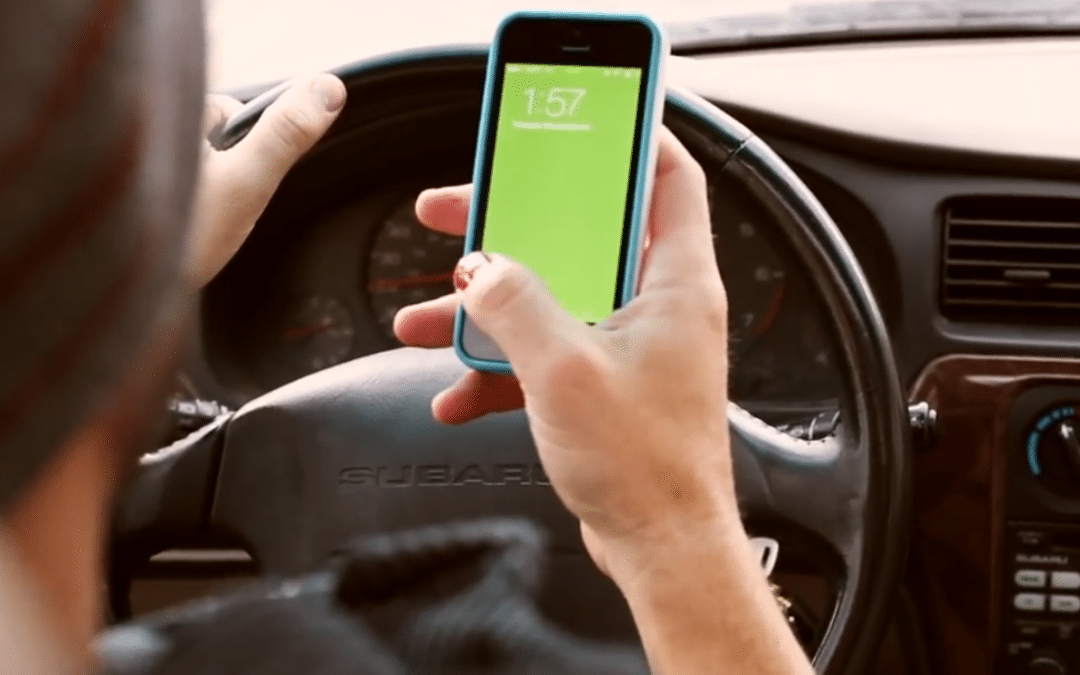 SMS au volant