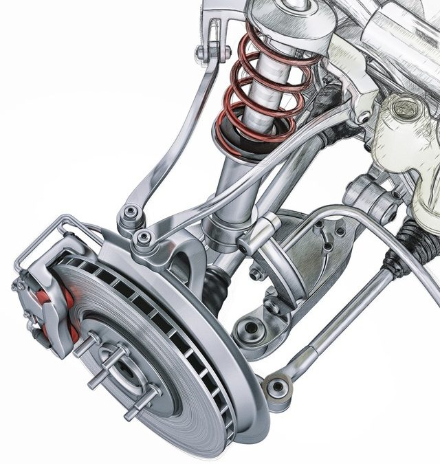 Commande hydraulique des freins