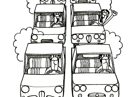 la circulation routière