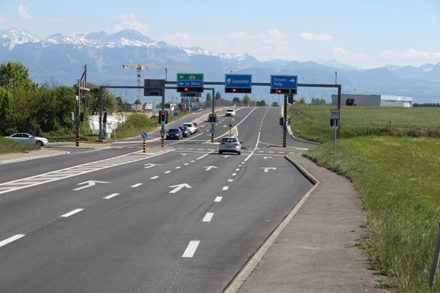 Le trafic routier Suisse